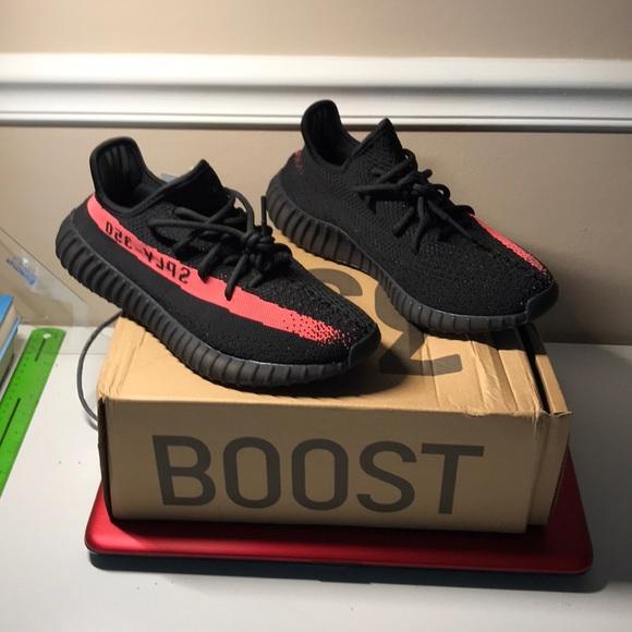 adidas yeezy stimuler la bande rouge 95 poshmark 350 v2